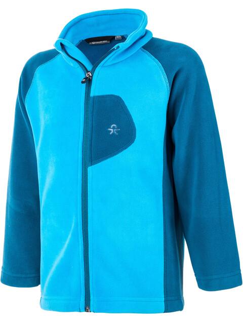 Color Kids Rafting Fleece 2 Face Jacket Kids moroccan blue